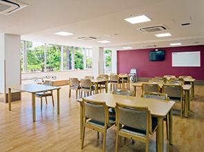 2階食堂・機能訓練室